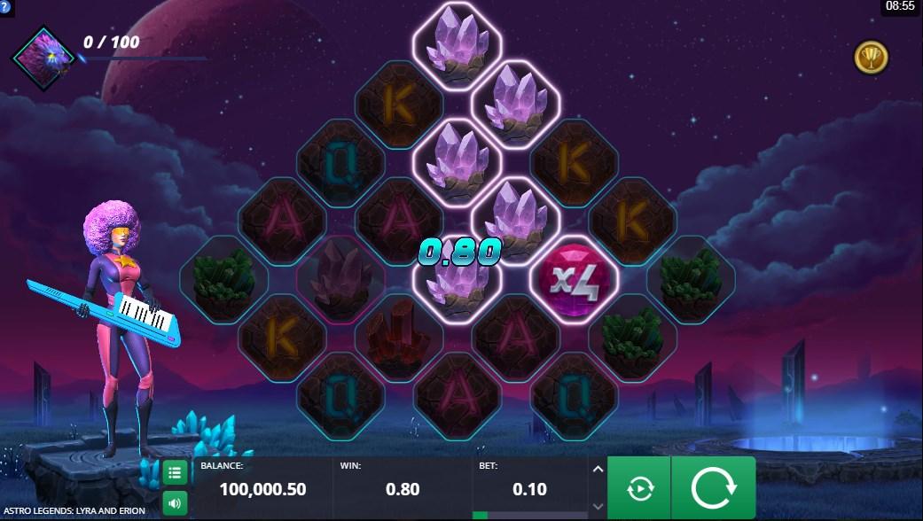 Играть бесплатно Astro Legends Lyra and Erion