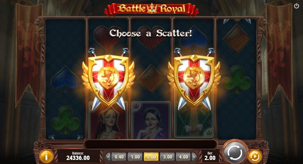 Бесплатный слот Battle Royal