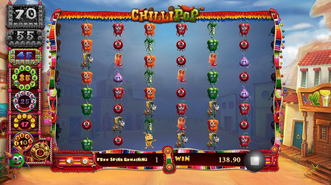 Chilli Pop бесплатный слот