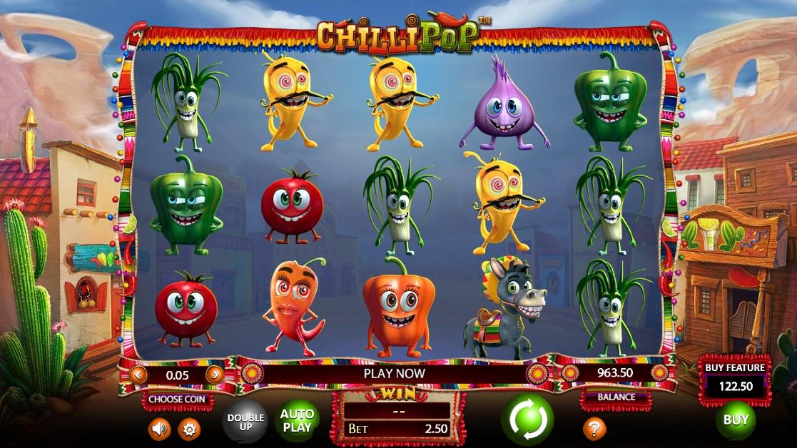 Играть бесплатно Chilli Pop