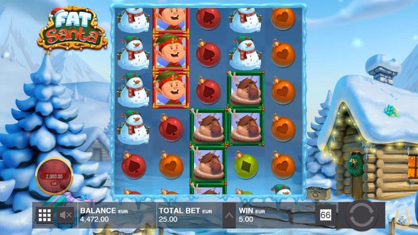 игровой автомат на Рождество и Новый Год