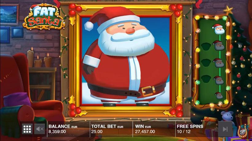 игровой автомат Fat Santa на Новый Год