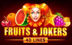 Fruits and Jokers 40 lines играть бесплатно