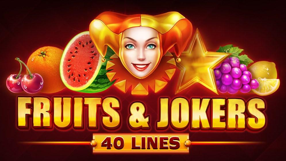 Играть бесплатно Fruits and Jokers 40 lines