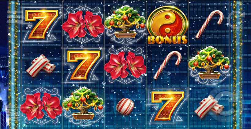 Ho Ho Tower игровой автомат на Рождество