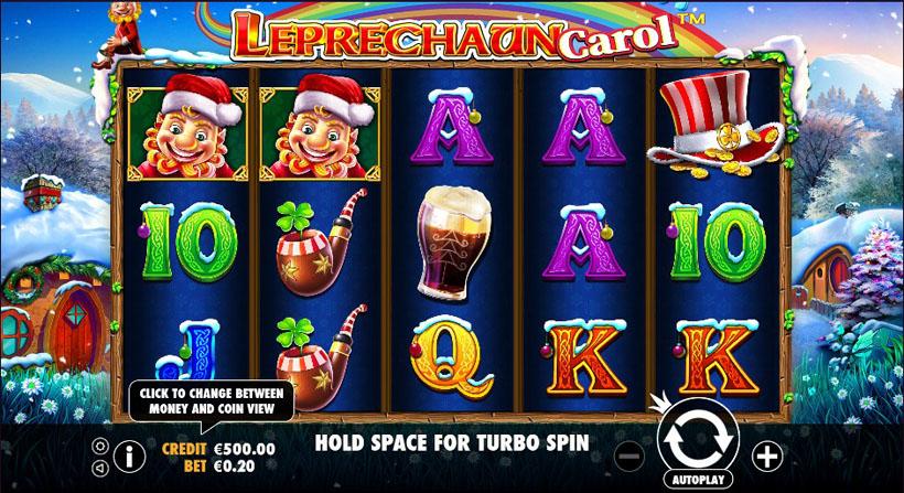 Leprechaun Carol игровой автомат про Новый Год