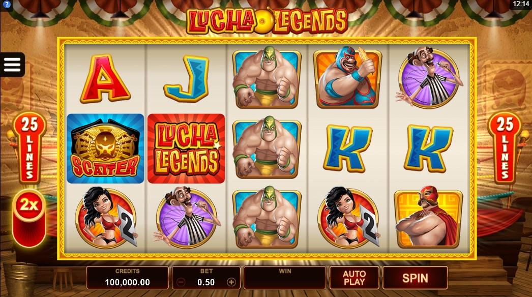 Играть бесплатно Lucha Legends