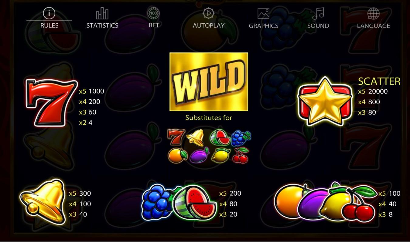 Игровой автомат Lucky streak 1