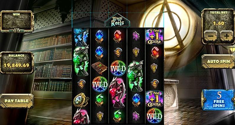 Играть без регистрации Magic Wilds