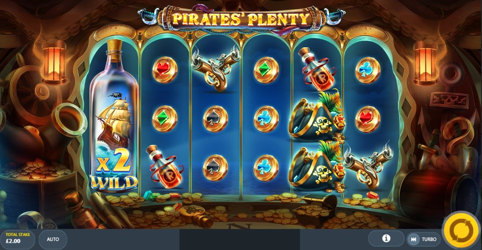 Pirates` Plenty слот играть
