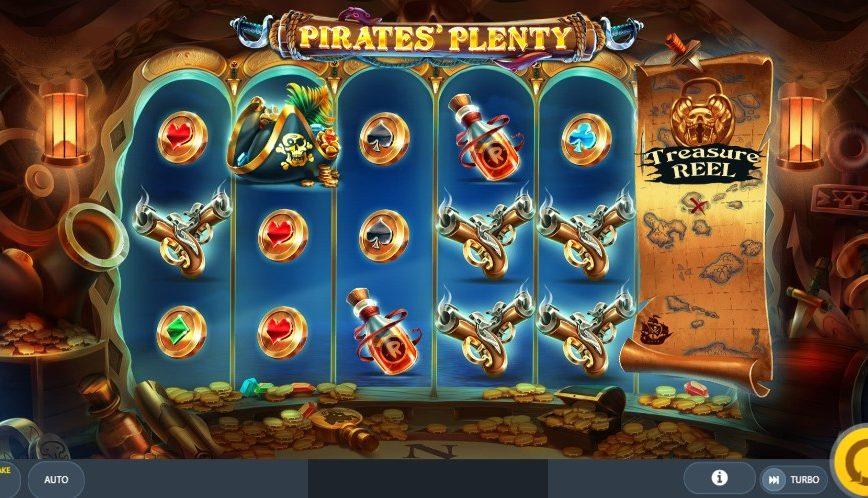 Играть без регистрации Pirates` Plenty