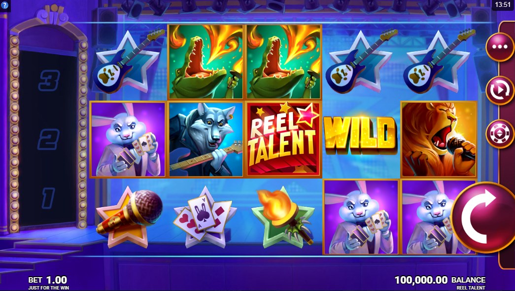 Играть бесплатно Reel Talent