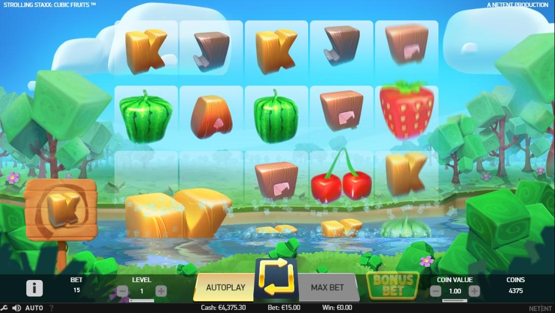 Бесплатный слот Strolling Staxx Cubic Fruits