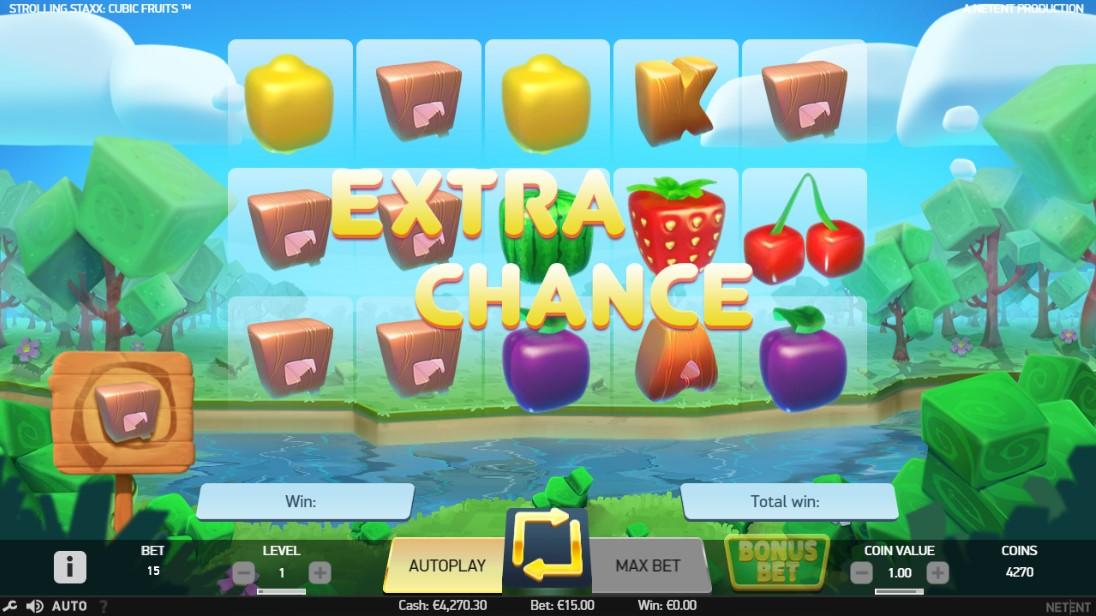 Игровой автомат Strolling Staxx Cubic Fruits