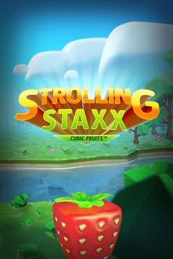 Играть Strolling Staxx Cubic Fruits онлайн