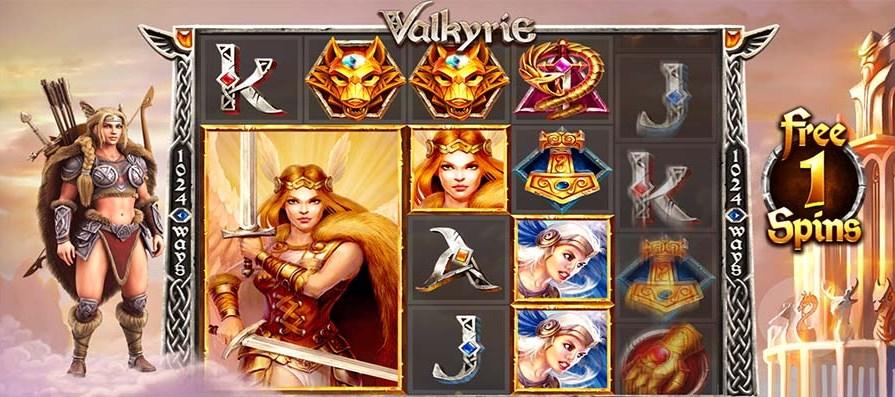 Играть без регистрации Valkyrie