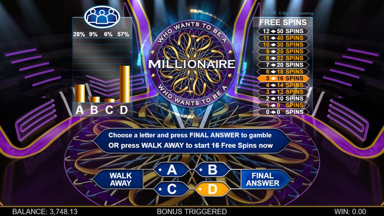Who Wants To Be A Millionaire играть онлайн