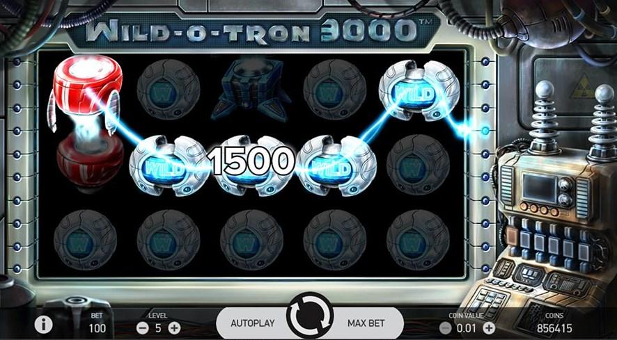 Играть без регистрации Wild-O-Tron 3000