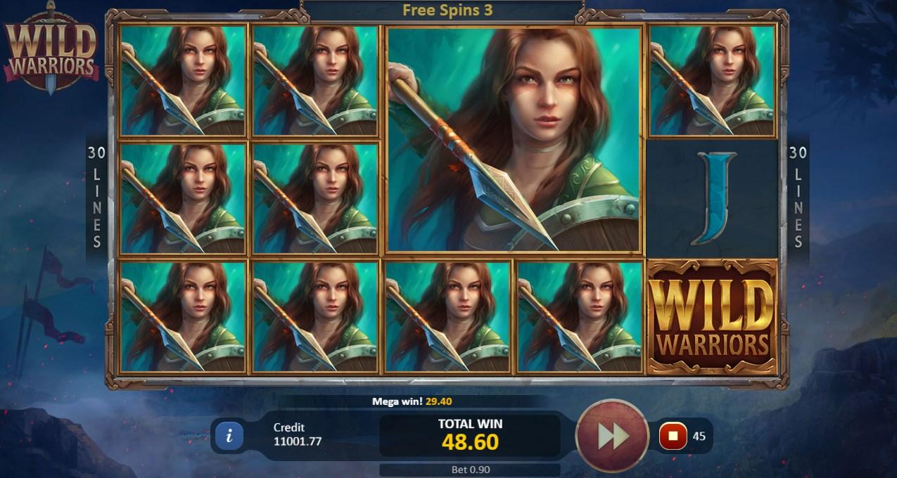 Wild Warriors играть бесплатно
