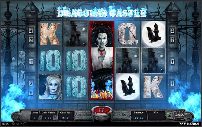 Дракула игровые автоматы