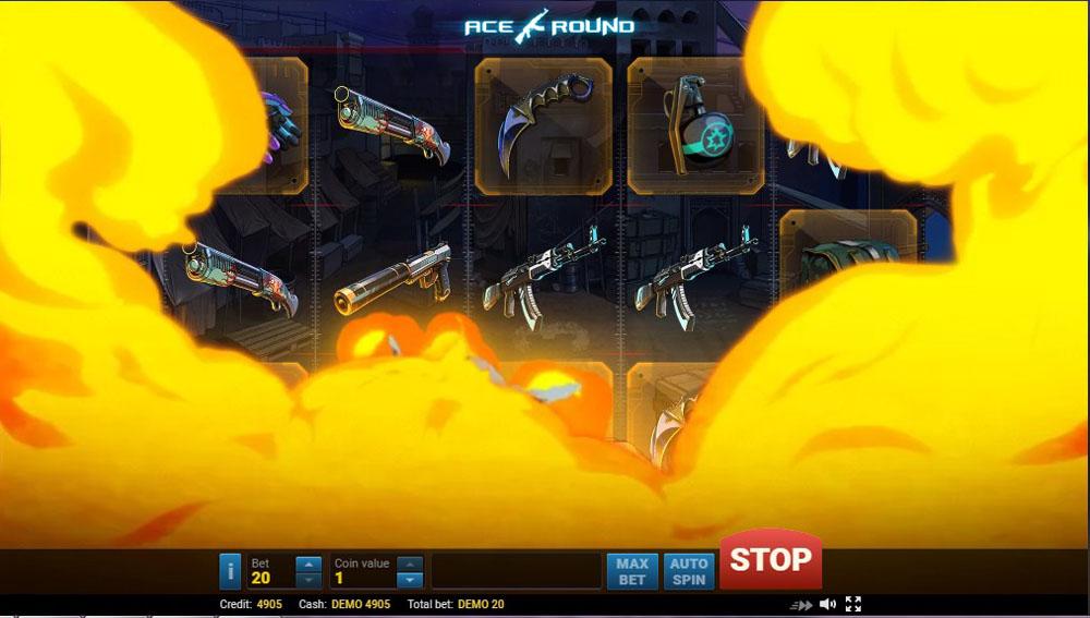 игровые автоматы Evoplay Ace Round