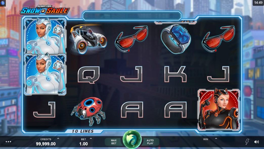Игровой автомат Action Ops Snow and Sable