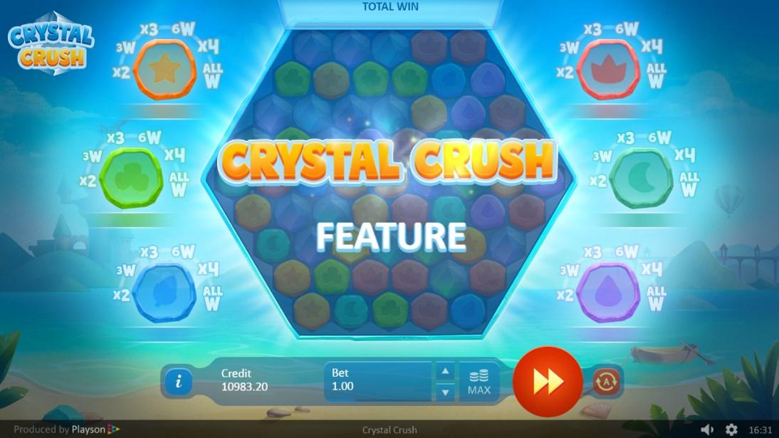 Crystal Crush бесплатный игровой автомат