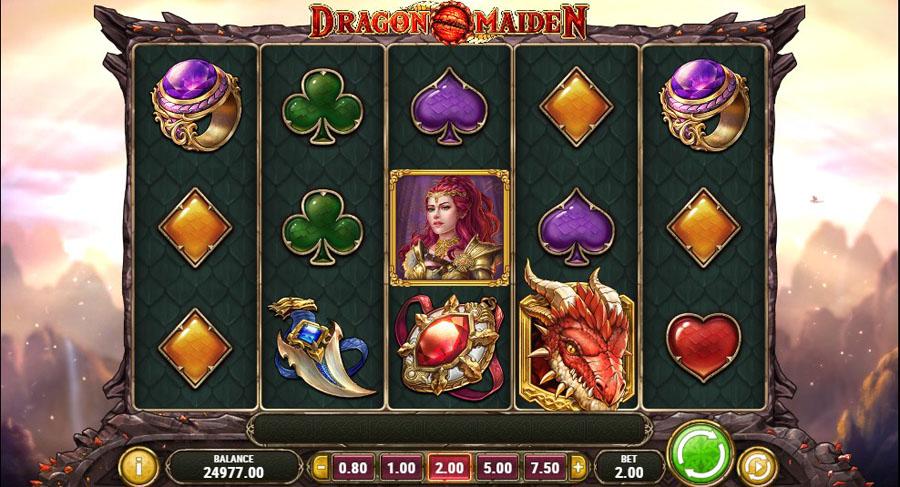 лучшие игровые аппараты 2018 Dragon Maiden