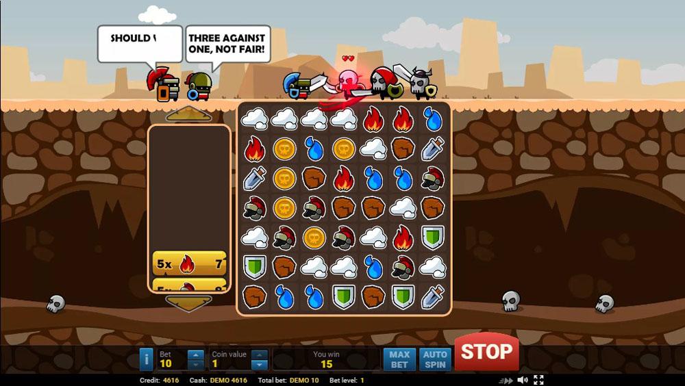 игровые слоты Evoplay Epic Gladiators