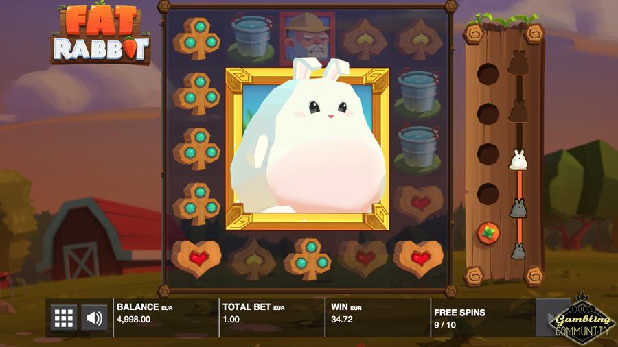 лучшие игровые автоматы 2018 Fat Rabbit
