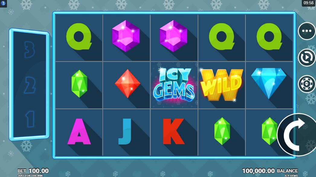 Играть бесплатно Icy Gems