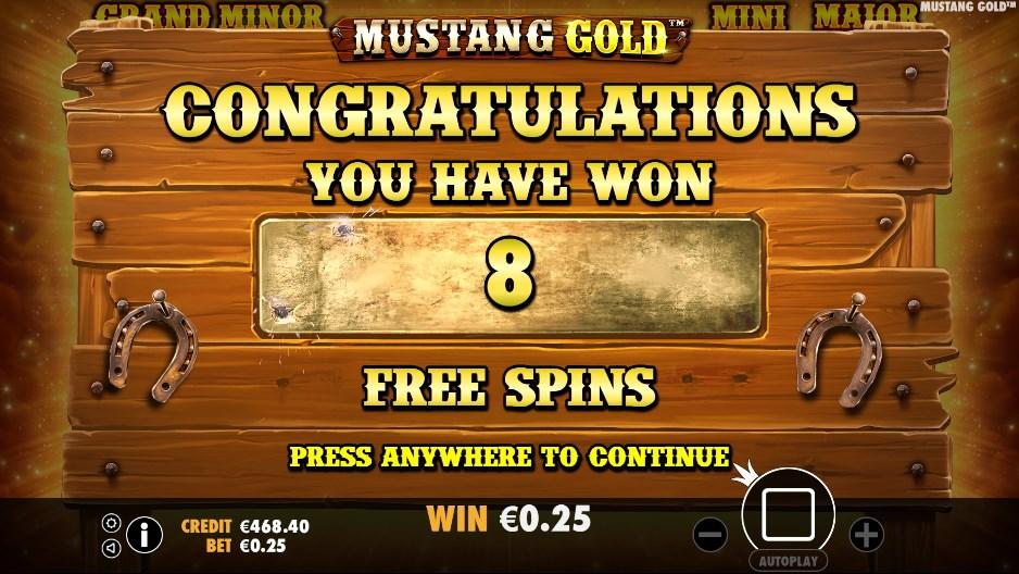Mustang Gold играть бесплатно