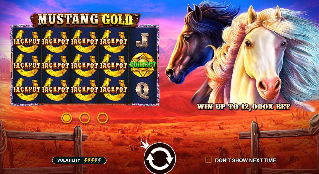 Играть Mustang Gold бесплатно