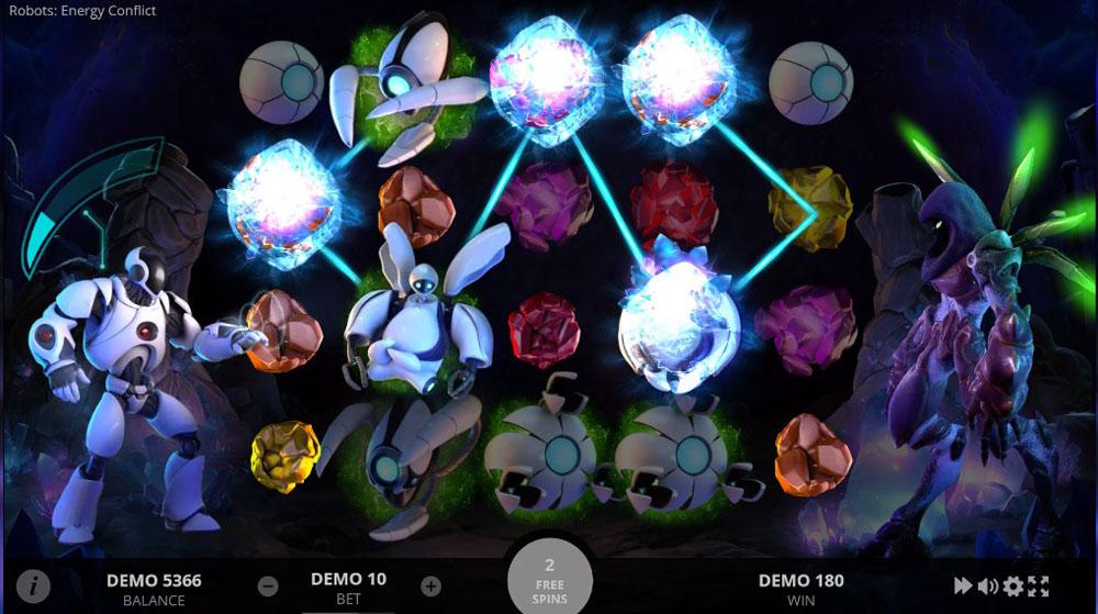 игровые автоматы Evoplay Robots