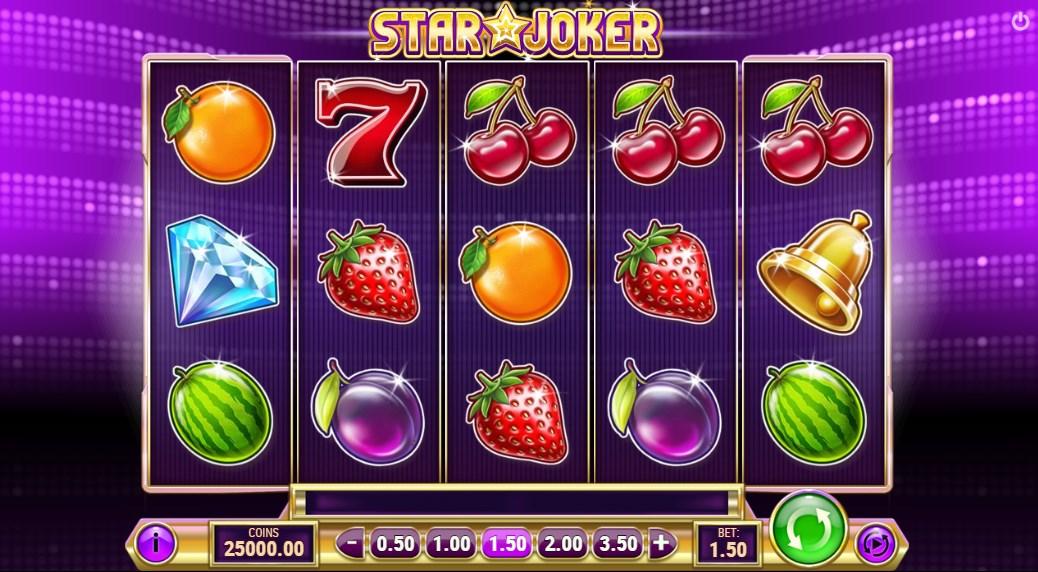 Играть бесплатно Star Joker