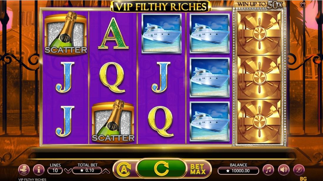 Бесплатный слот VIP Filthy Riches