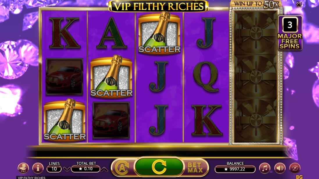VIP Filthy Riches бесплатный