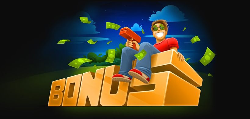 бонус на первый депозит казино