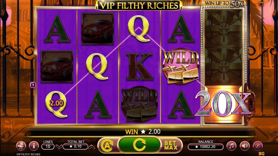 Игровой автомат VIP Filthy Riches