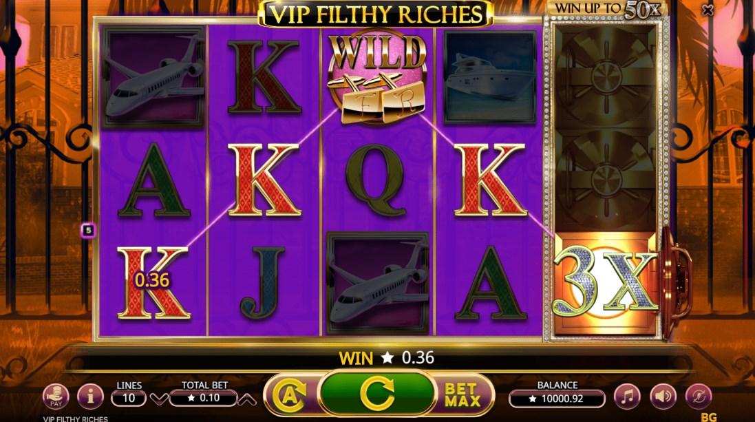 VIP Filthy Riches бесплатный слот