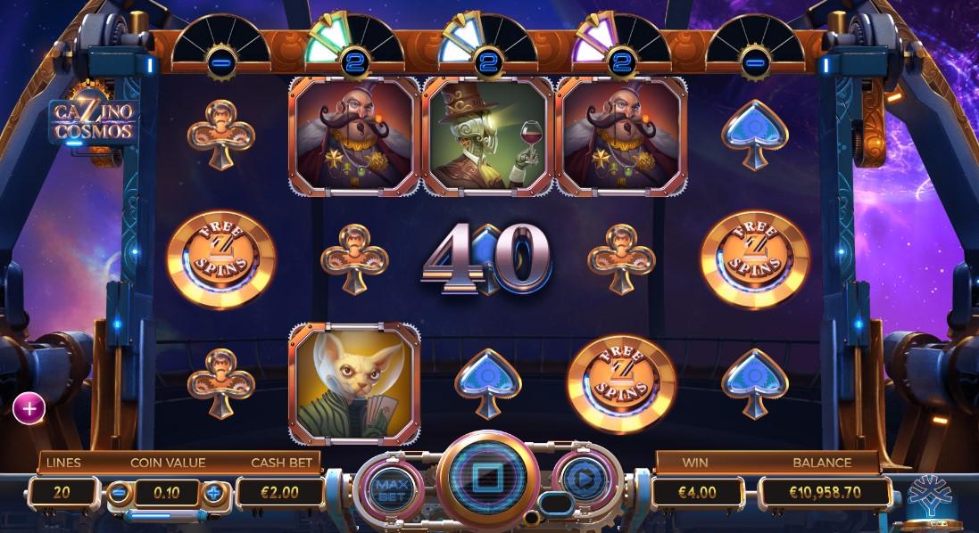 Играть бесплатно Cazino Cosmos