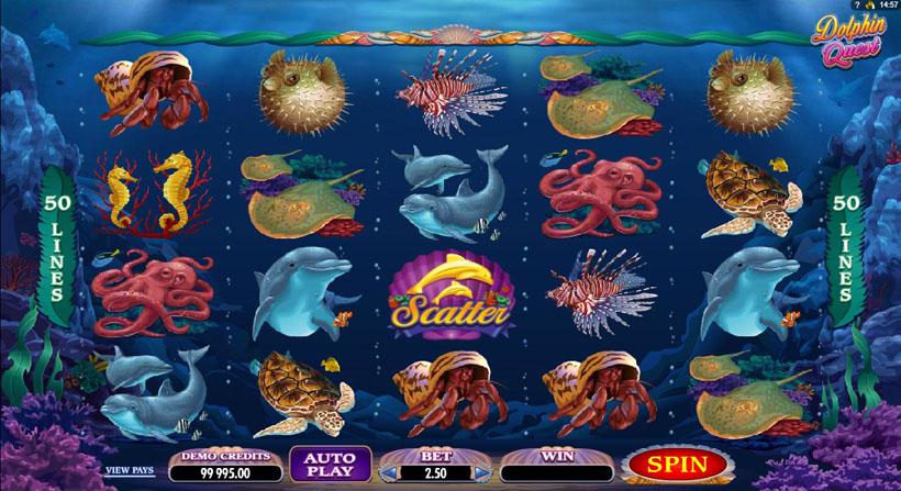 игровые автоматы дельфины бесплатно