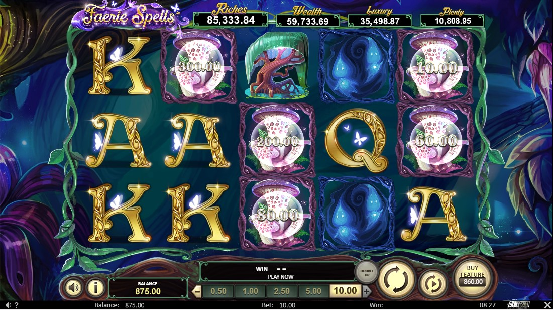 Игровой автомат Faerie Spells
