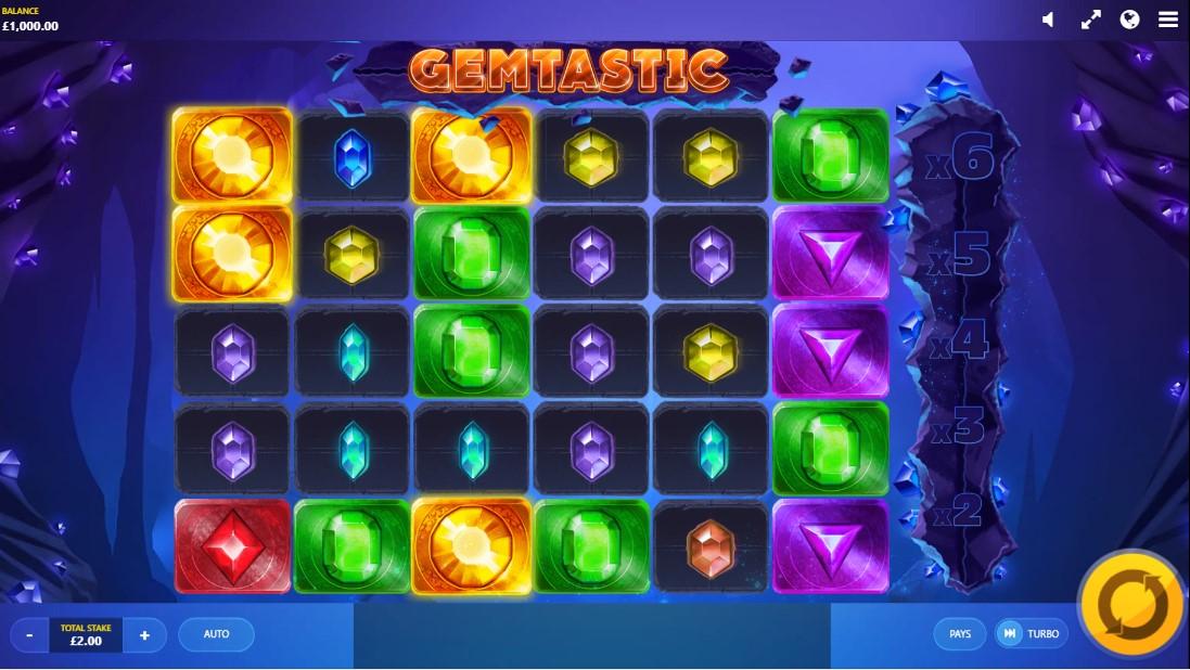 Играть бесплатно Gemtastic