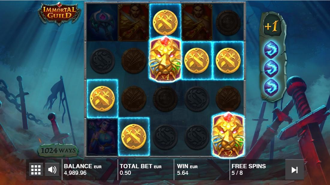 Immortal Guild игровой автомат