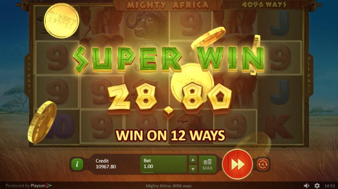 Mighty Africa бесплатный онлайн слот