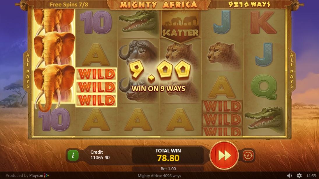 Mighty Africa играть бесплатно