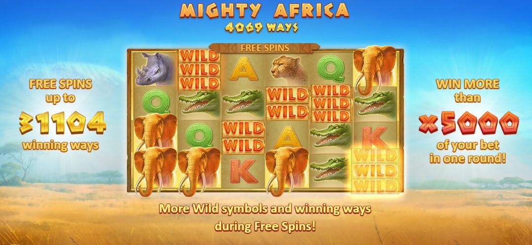 Играть Mighty Africa