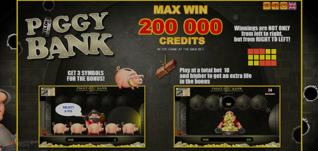 Игровой автомат свиньи играть бесплатно