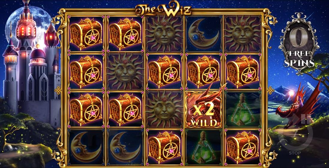 The Wiz бесплатный игровой автомат